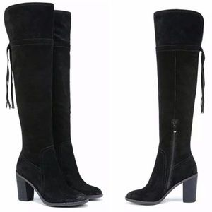 FRANCO SARTO ECKHART OVER THE KNEE SUEDE BOOT